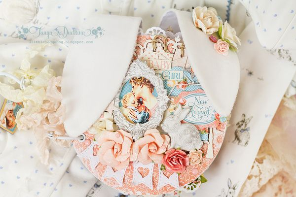 Precious-Memories-Mini-Album-Tutorial-Graphic45-Tanya-Dudkina-1-of-5