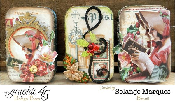 Great gift ideas with graphic 45 graphic 45 for Decorating tins for christmas