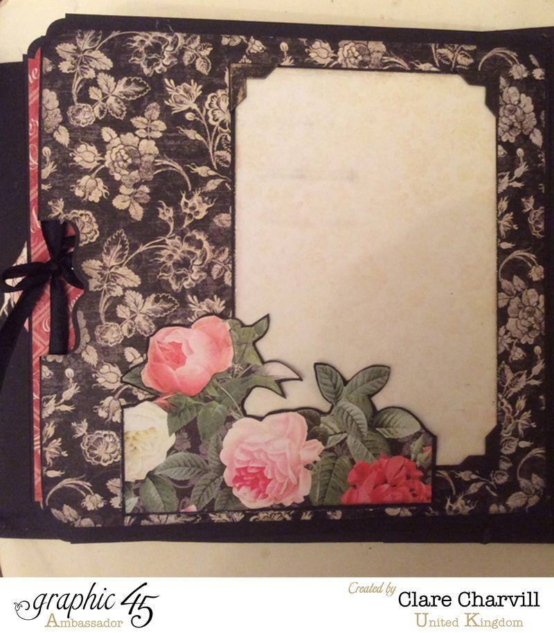 Mon Amour Album 4 Clare Charvill Graphic 45