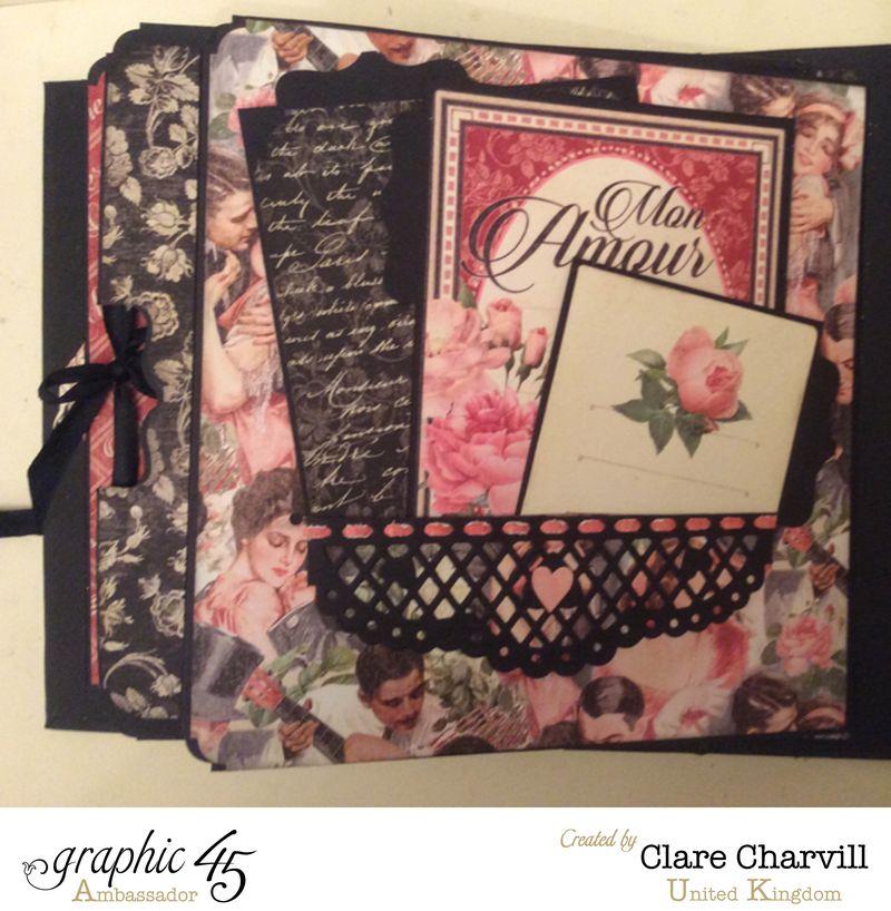 Mon Amour Album 5 Clare Charvill Graphic 45