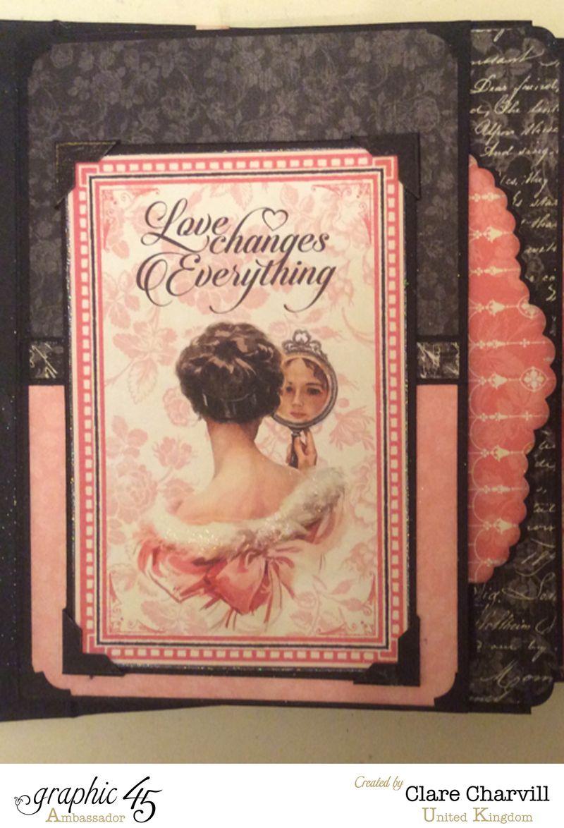 Mon Amour Album 6 Clare Charvill Graphic 45