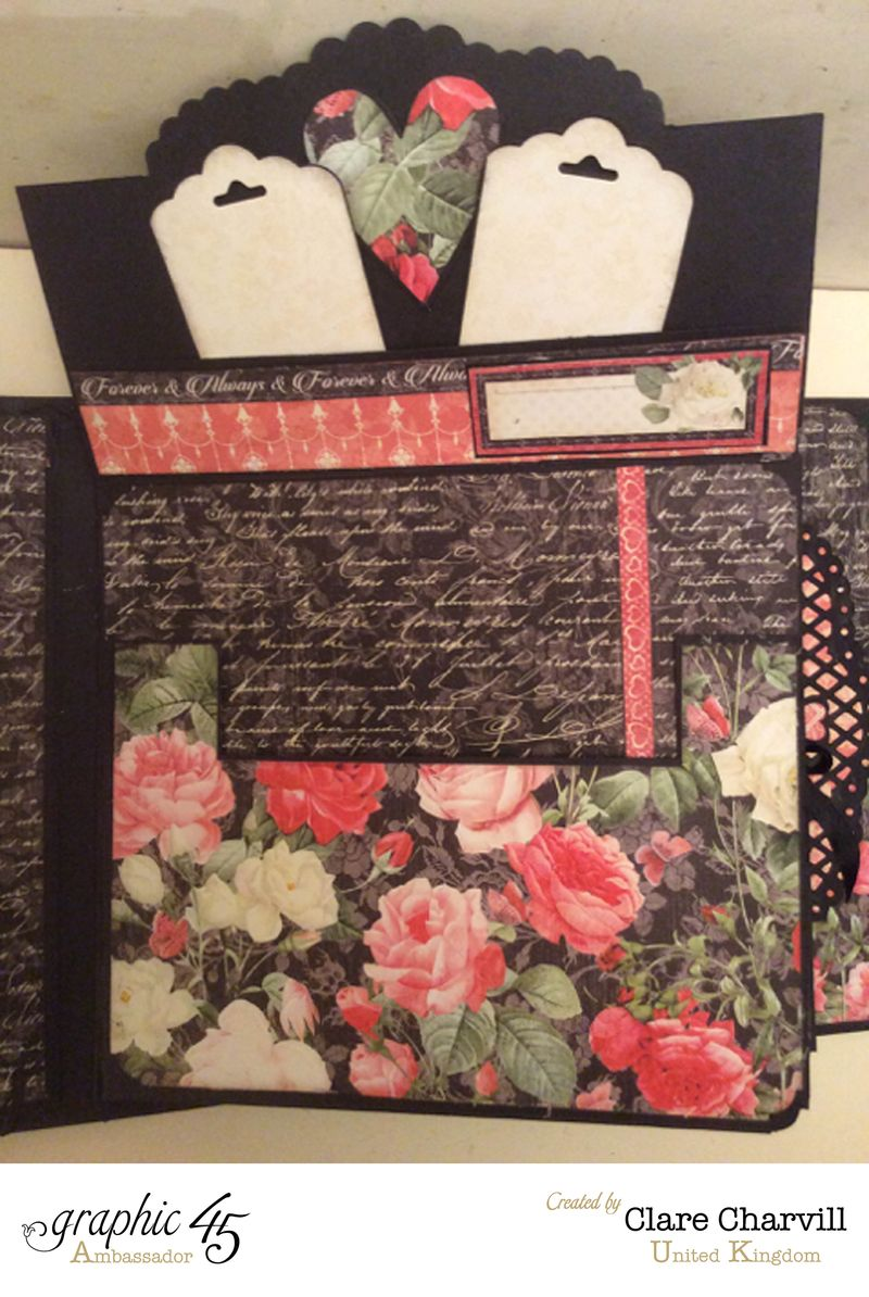 Mon Amour Album 3 Clare Charvill Graphic 45