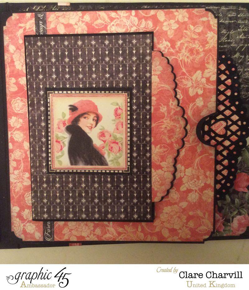 Mon Amour Album 7 Clare Charvill Graphic 45