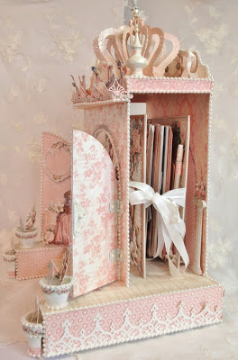 IMAGE-FAIRYTALE -PRINCESS-BOX.CASTLE--GRAPHIC 45-GILDED LILY-MINI ALBUM-TUTORIAL-HOW TO-MAKE-FREE-TEMPLATE-MEASUREMENTS,LEARN,CREATE-CRAFT-SCRAPBOOKING-FROM START TO FINISH-ANNESPAPERCREATIONS.COM-ANNE ROSTAD- (4)