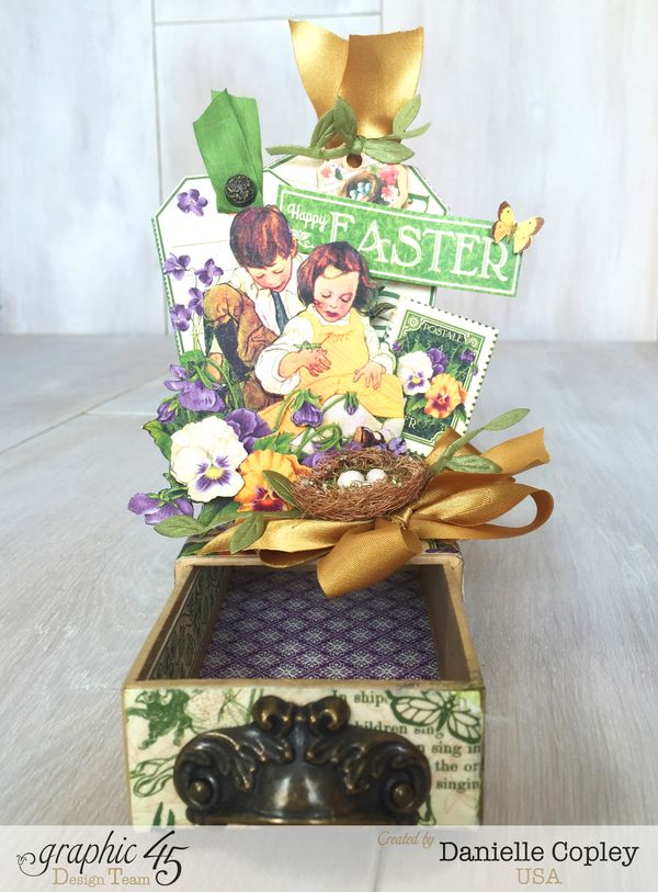 May Arts Hop Easter Gift Box, Children's Hour, Danielle Copley, Graphic 45, photo 2