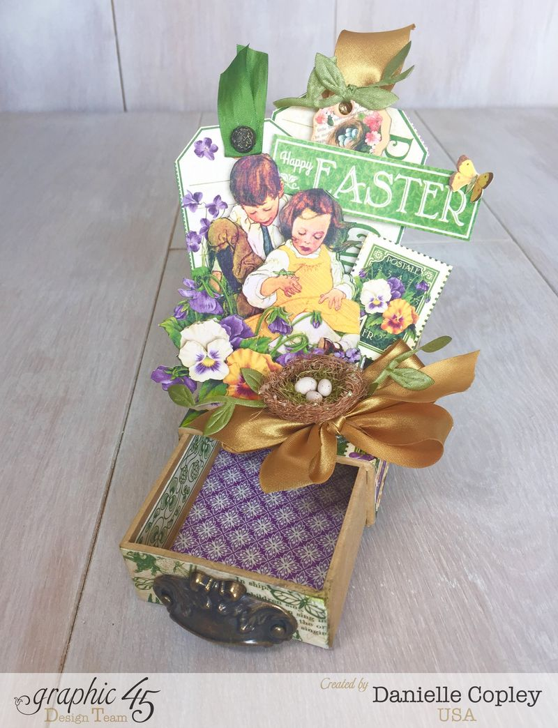 May Arts Hop Easter Gift Box, Children's Hour, Danielle Copley, Graphic 45, photo 4