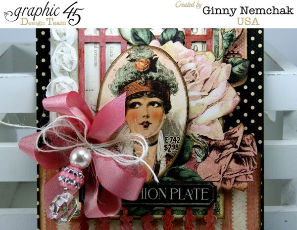 G45-May Art Ribbon Blog Hop Ladies Diary Cards