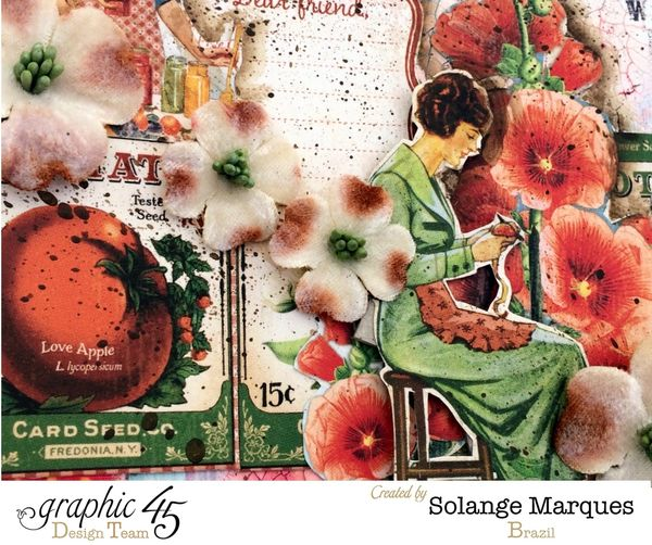 Binder Folder by Solange Marques with G45 Home Swet Home collection 1