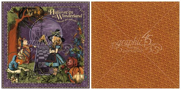 1- Hallowe'en in Wonderland signature page from this brand new Deluxe Collector's Edition #graphic45 #sneakpeeks