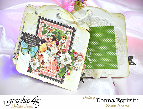 Celebrate Tag Mini for Mother's Day from Donna #graphic45