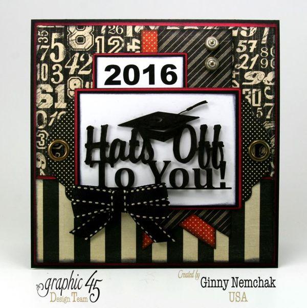 Graduation Cards 2016 Graphic 45   1