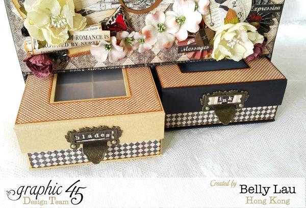 Communique Tool Box - Graphic 45 - Communique DCE - Belly Lau - Papercraft Buffet - Tutorial - Photo 1