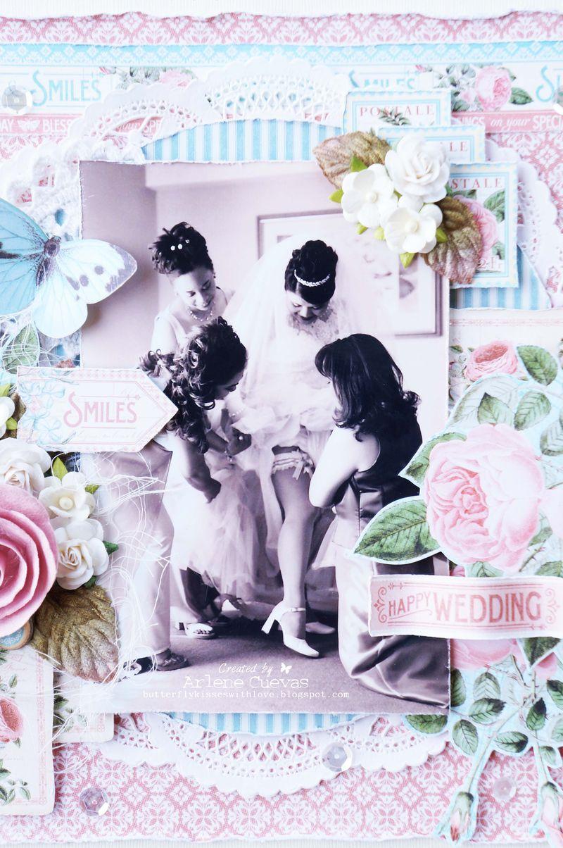 Wedding Layout_TimeToFlourish_ArleneCuevas_Graphic45_Photo3