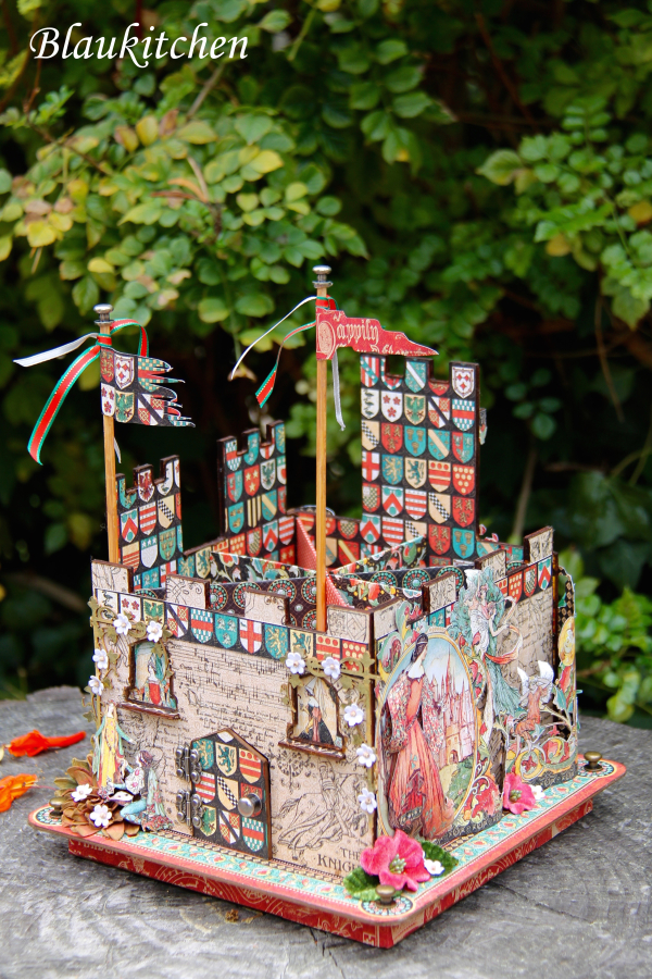 Castle tool holder Enchanted Forest by Marina Blaukitchen, Product by Graphic 45 Photo 10