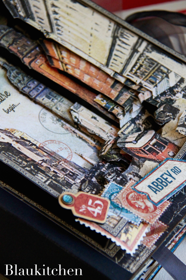 Travel Album City Scapes by Marina Blaukitchen, Product by Graphic 45 Photo