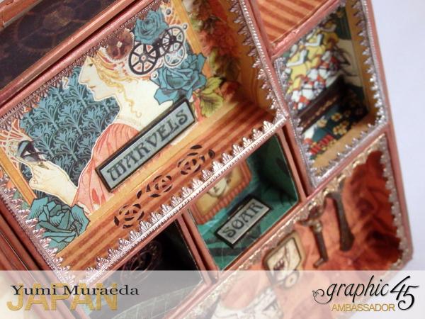 12Mrs Flies Accesoory Case, Steampunk Debutante, by Yumi Muraeda, Product by Graphic 45.