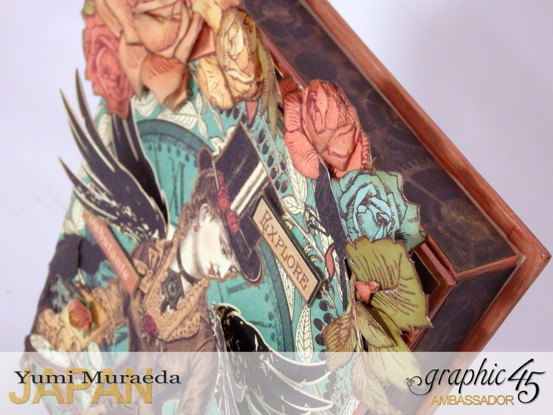 15Mrs Flies Accesoory Case, Steampunk Debutante, by Yumi Muraeda, Product by Graphic 45.