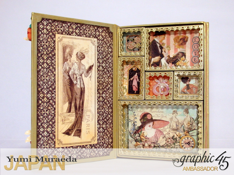 2My Lady Accesoory Case, A Ladies Diary, by Yumi Muraeda, Product by Graphic 45.