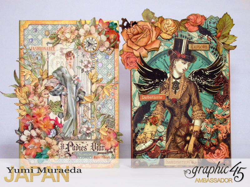3My Lady Accesoory Case, A Ladies Diary, by Yumi Muraeda, Product by Graphic 45.