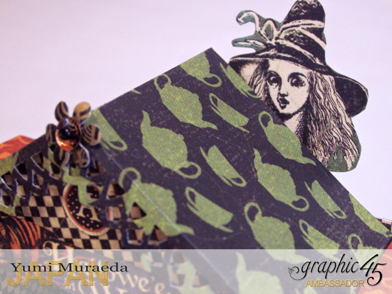 15Alice's Odd Tea House, Hallowe'en Wonderland, by Yumi Muraeda, Product by Graphic 45.