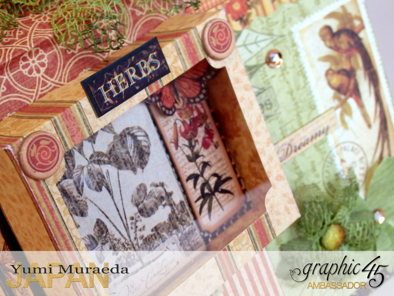11Secret Gaden Museum, Botanicabella, by Yumi Muraeda, Product by Graphic 45.