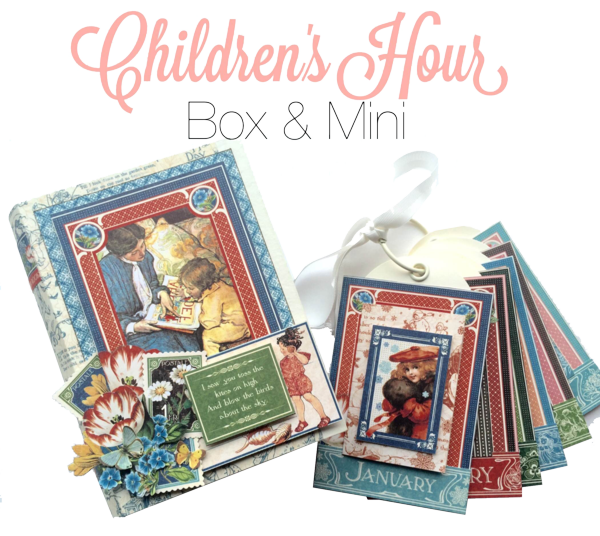 Try this Children's Hour Box & Mini Project Sheet #graphic45