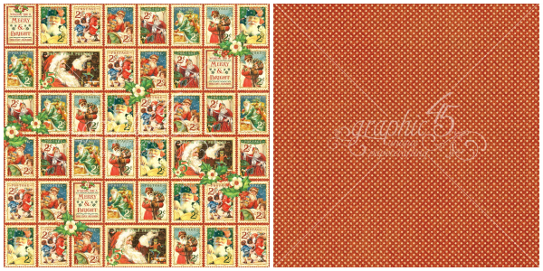 8 - Christmas Cheer, a page from St. Nicholas, a new collection from Graphic 45
