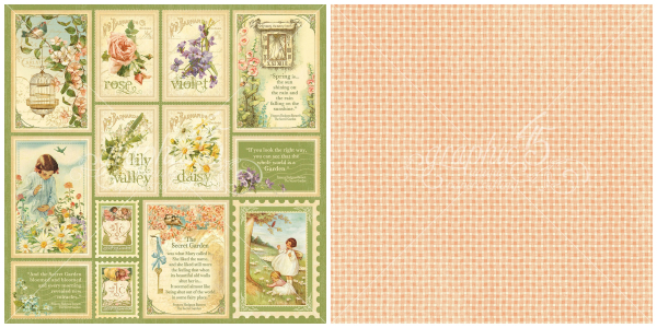 2 - Springtime from of our newest Deluxe Collector's Edition, Secret Garden!