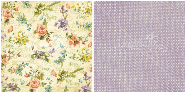 -5 - Beautiful Blooms  from our newest Deluxe Collector's Edition, Secret Garden!