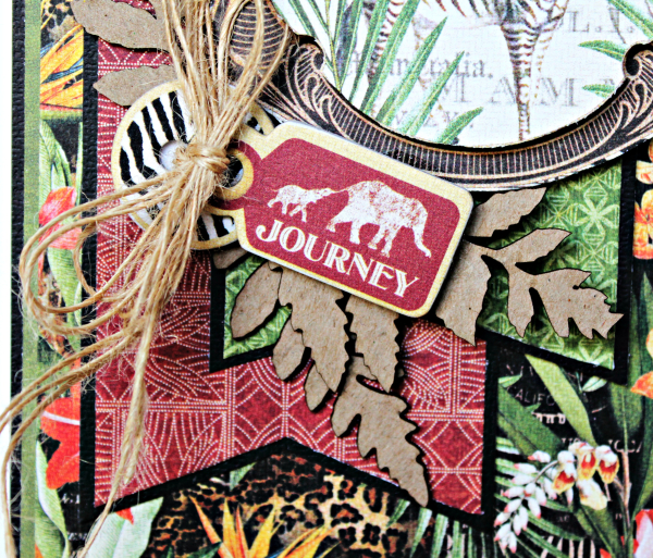 Journey Card, Safari Adventure Collection by Pam Bray, Product by Graphic 45, Photo 3_9917