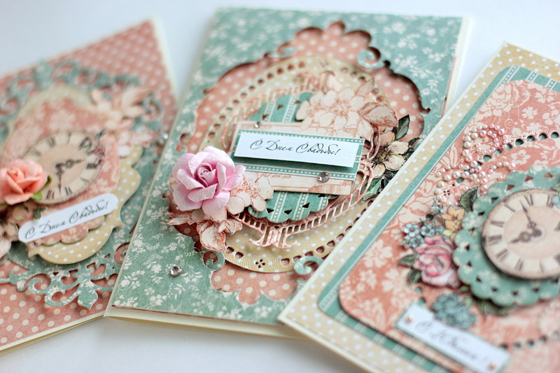 Wedding Cards, by Elena Olinevich, Ladies Diary, Product by Graphic45, photo7