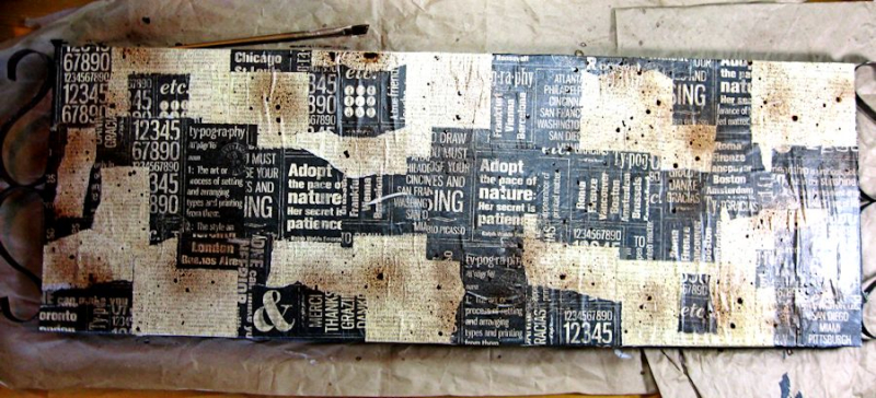 Create Mixed Media Home Decor Step Out Photo, DIY Quotes and Newsprint, Cityscapes, by Kathy Clement. Product by Graphic 45 Photo 4