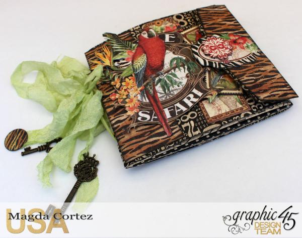 Just Birds Mini Album, Safari Adventure, Magda Cortez, Graphic45, Photo 01 of 11.jpg