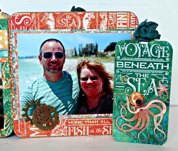 Graphic 45 The Sea is Calling Me Mini Album - Tutorial - Pam Bray 35_0667
