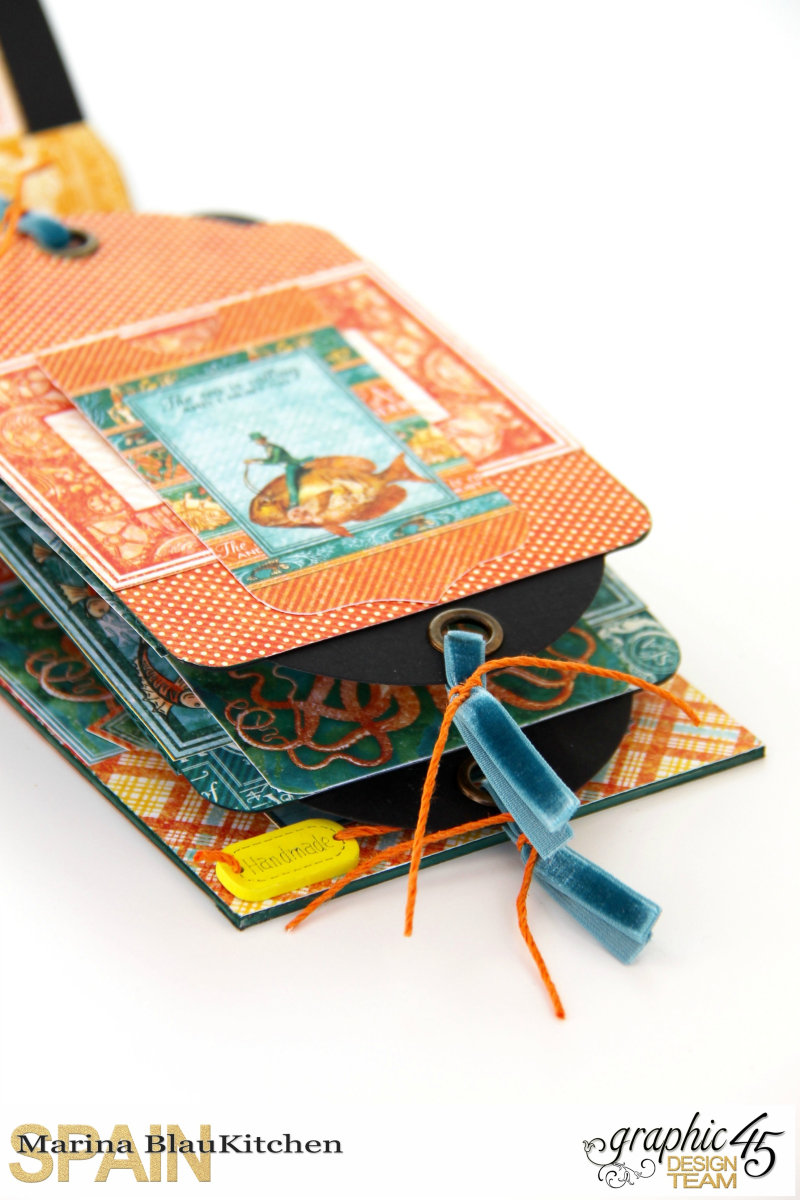Summer Album Voyage Beneath the Sea by Marina Blaukitchen Product by Graphic 45 photo 10