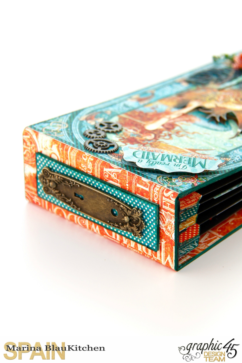 Summer Album Voyage Beneath the Sea by Marina Blaukitchen Product by Graphic 45 photo 14