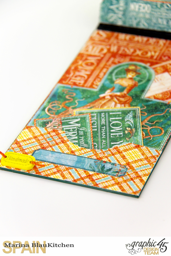 Summer Album Voyage Beneath the Sea by Marina Blaukitchen Product by Graphic 45 photo 1