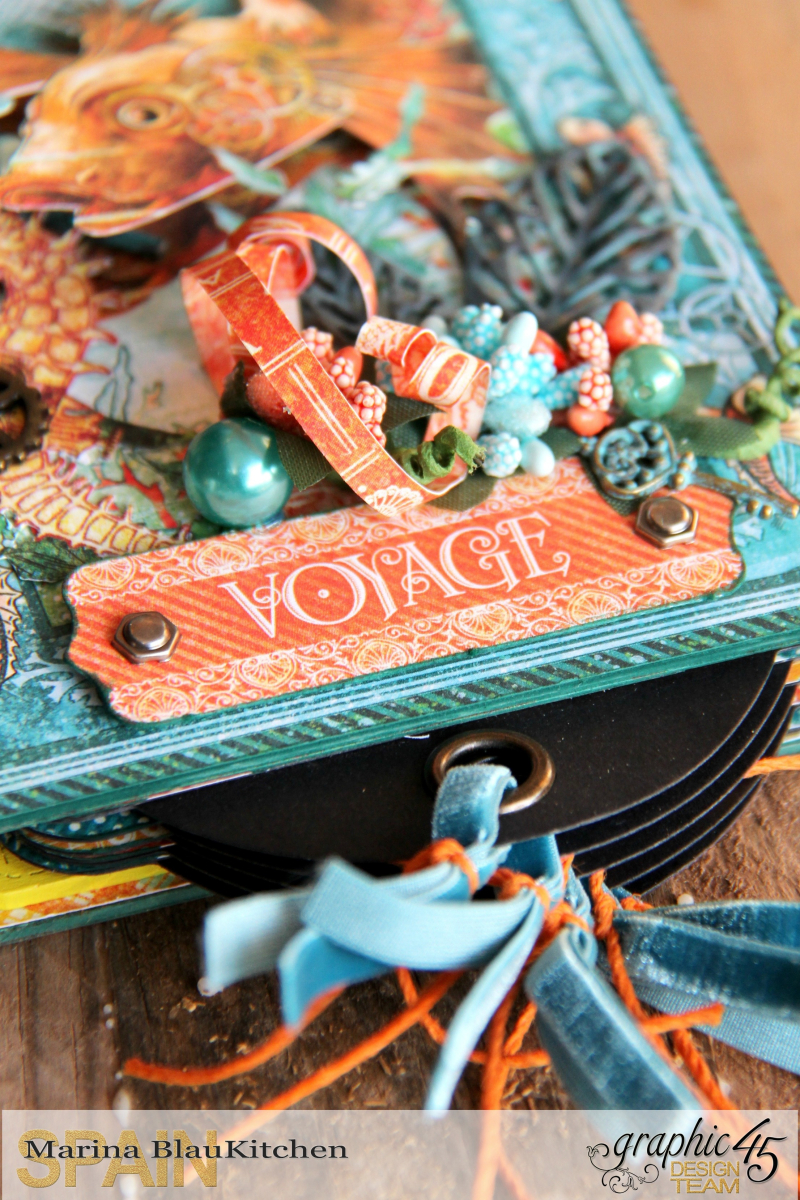Summer Album Voyage Beneath the Sea by Marina Blaukitchen Product by Graphic 45 photo 23