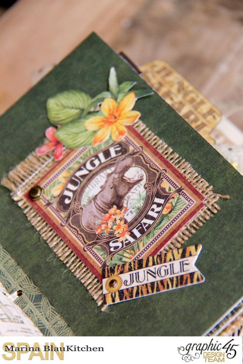 Safari Adventure Travel 6_x4_ Album by Marina Blaukitchen Product by Graphic 45 photo 10