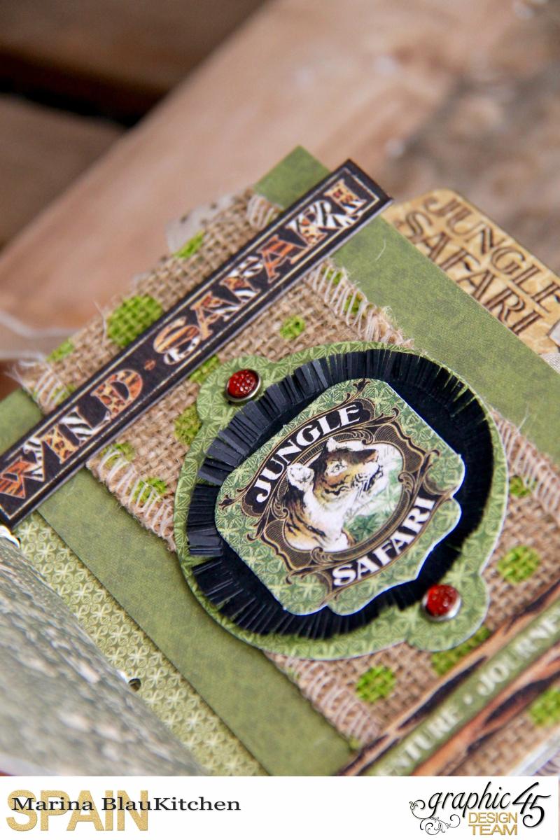 Safari Adventure Travel 6_x4_ Album by Marina Blaukitchen Product by Graphic 45 photo 12