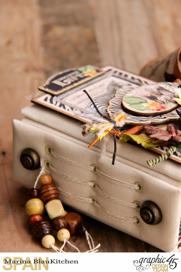 Safari Adventure Travel 6_x4_ Album by Marina Blaukitchen Product by Graphic 45 photo 1