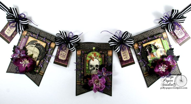 Delightfully_Sweet_Halloween_Banner_G45_Polly's_Paper_Studio_Ginny_Nemchak_Rare_Oddities_01