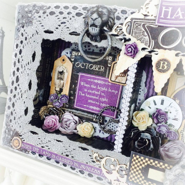 Hallowe'en in Wonderland Home Decor for Graphic 45 by Aneta Matuszewska, photo 6
