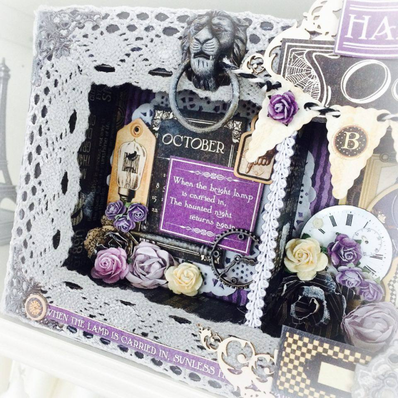 Hallowe'en in Wonderland Home Decor for Graphic 45 by Aneta Matuszewska, photo 2