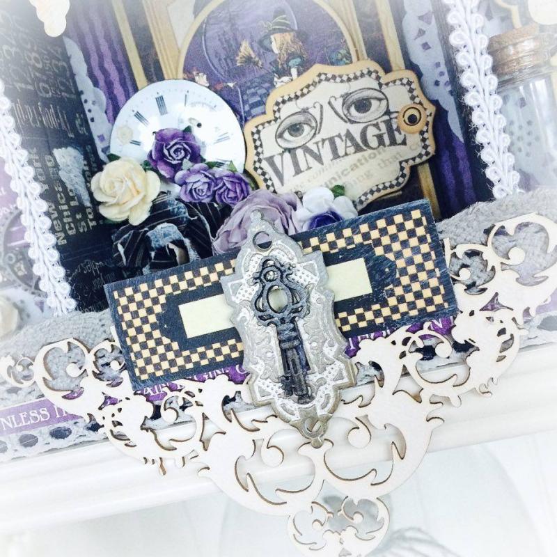 Hallowe'en in Wonderland Home Decor for Graphic 45 by Aneta Matuszewska, photo 5