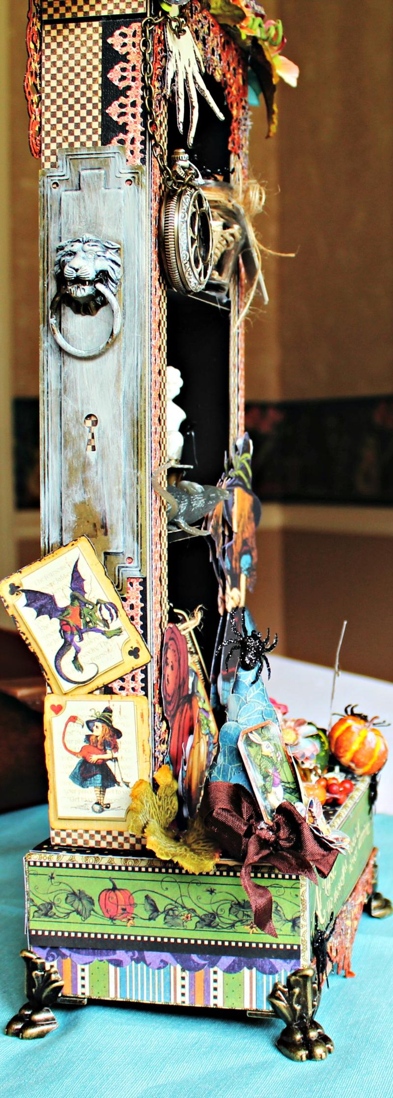 Graphic 45 - Halloween in Wonderland -Tutorial - Pam Bray 3_0998