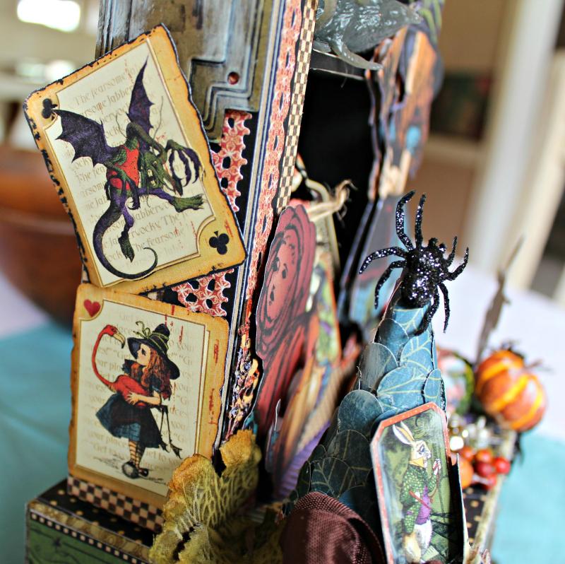 Graphic 45 - Halloween in Wonderland -Tutorial - Pam Bray 5_1000