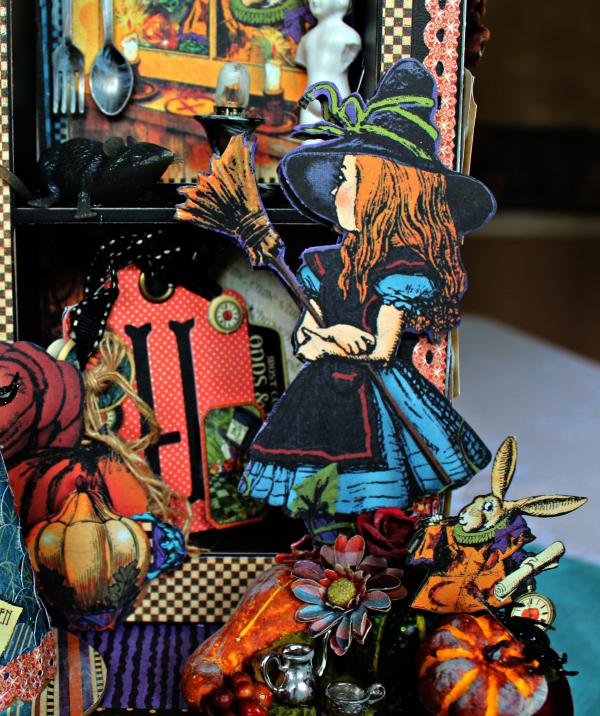 Graphic 45 - Halloween in Wonderland -Tutorial - Pam Bray 12_1019