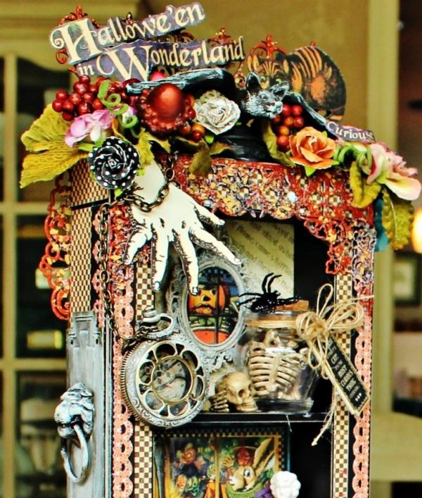 Graphic 45 - Halloween in Wonderland -Tutorial - Pam Bray 14__1032
