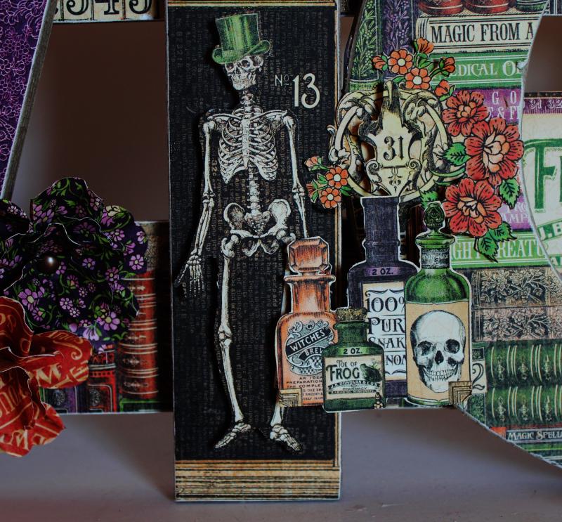Graphic 45 Wicked Sign - Pam Bray - Rare Oddities - Photo 8_1371